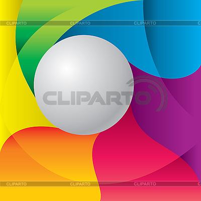공 색상 배경   벡터 클립 아트  ID 3125629
