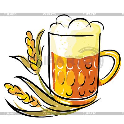 啤酒   向量插图  ID 3125782
