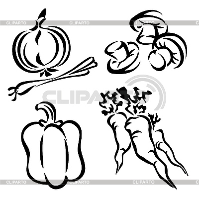 Vegetables | Stock Vector Graphics |ID 3131188