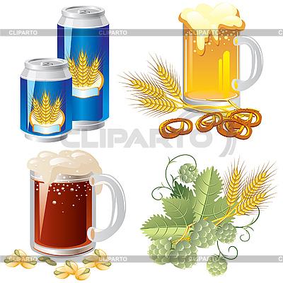 Beer set | Stock Vector Graphics |ID 3159399
