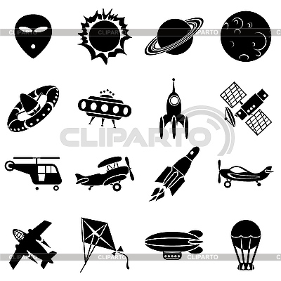 Air and space | Stock Vector Graphics |ID 3159407
