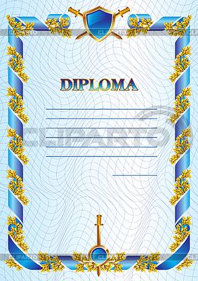 Military diploma | Stock Vector Graphics |ID 3275108
