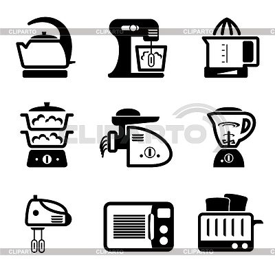 Kitchenware icons | Stock Vector Graphics |ID 3330656