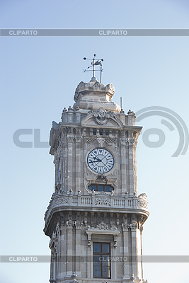 Clock tower in the Front Of Dolmabache Palace | High resolution stock photo |ID 3109382
