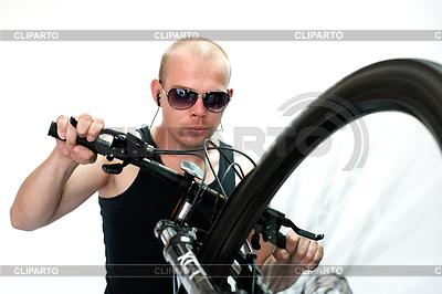 Bicyclist | High resolution stock photo |ID 3329102