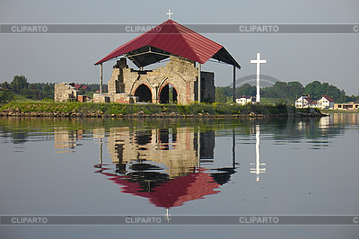 Ruins of church | High resolution stock photo |ID 3112020