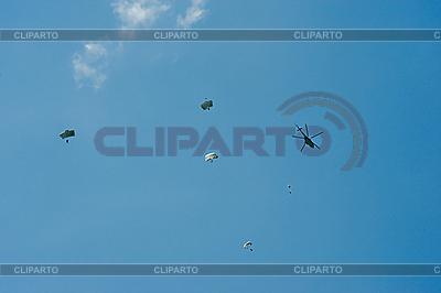 Fallschirmspringen | Foto mit hoher Auflösung |ID 3112022