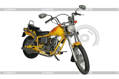Yellow motorbike   High resolution stock photo  ID 3112049