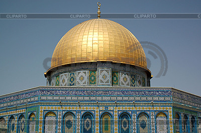 Dome on Rock in Jerusalem | High resolution stock photo |ID 3112153