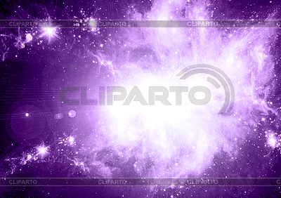 Abstract space background with stars | High resolution stock illustration |ID 3112582