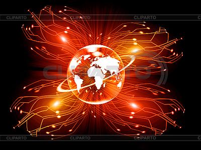 Bedeutung der elektronischen Kommunikation | Illustration mit hoher Auflösung |ID 3112623