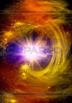 Bright star in the space | High resolution stock illustration |ID 3112673