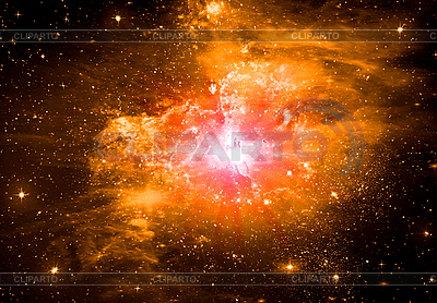 Abstract space background with stars   High resolution stock illustration  ID 3112718