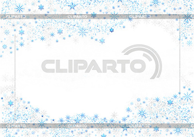 Christmas background of snowflakes | High resolution stock illustration |ID 3112722