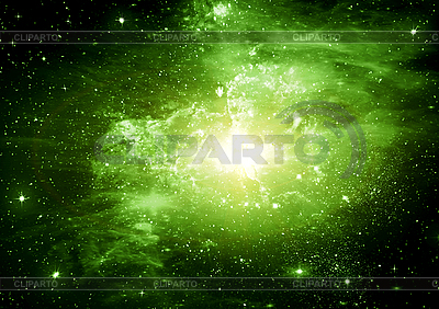Abstract space background with stars | High resolution stock illustration |ID 3112737