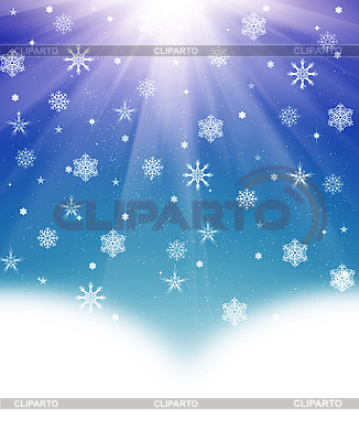 Christmas background of snowflakes | High resolution stock illustration |ID 3116314