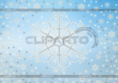 Christmas background of snowflakes | High resolution stock illustration |ID 3116392