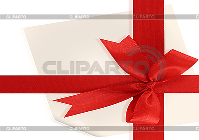 Big red holiday bow | High resolution stock illustration |ID 3117453