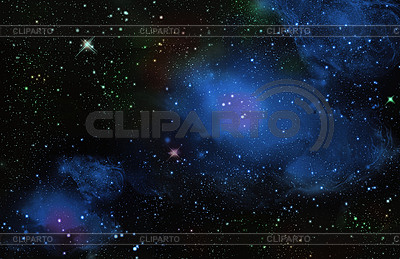 Stars in deep space | High resolution stock illustration |ID 3196844