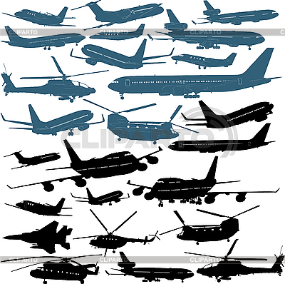 Samoloty | Stockowa ilustracja wysokiej rozdzielczości |ID 3113352