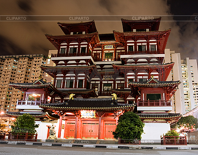 Buddha Tooth Relic Temple in Singapore   High resolution stock photo  ID 3113522