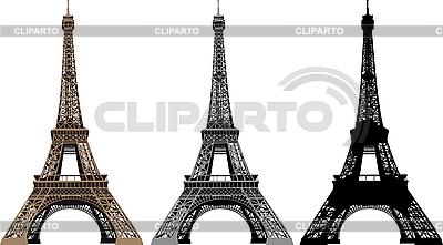 Z wieży Eiffla | Stockowa ilustracja wysokiej rozdzielczości |ID 3113646