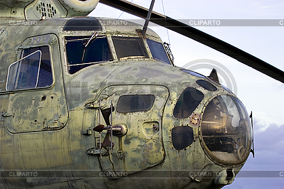 Old Soviet helicopter | High resolution stock photo |ID 3113793
