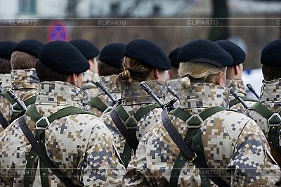 Солдаты на военный парад | Фото большого размера |ID 3113958