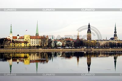 Panorama der Altstadt Riga | Foto mit hoher Auflösung |ID 3114031