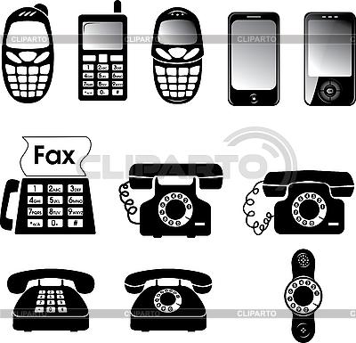 Телефоны | Векторный клипарт |ID 3114158