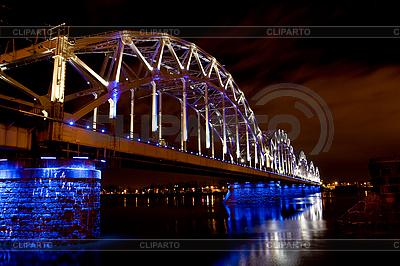 Riga Railway bridge | Foto stockowe wysokiej rozdzielczości |ID 3114250