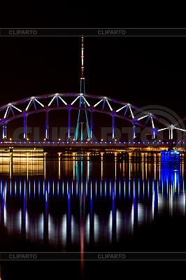 Riga Railway bridge | High resolution stock photo |ID 3114252