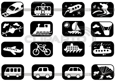 Transportation icon set | Illustration mit hoher Auflösung |ID 3114522