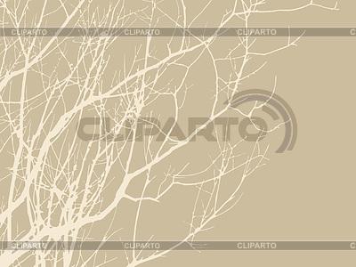 Drewno oddziałów na brązowym tle, | Klipart wektorowy |ID 3230669