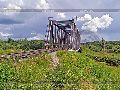 Railway bridge. | High resolution stock photo |ID 3254028