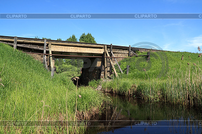 Old railway bridge   Foto stockowe wysokiej rozdzielczości  ID 3254381