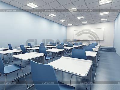 Modern classroom interior   High resolution stock illustration  ID 3128304
