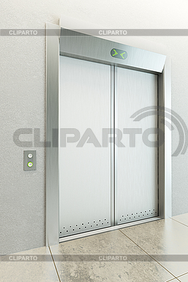 Modern elevator | High resolution stock illustration |ID 3133630
