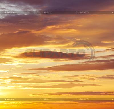 Sunset sky   High resolution stock photo  ID 3137268