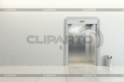 Modern elevator | High resolution stock illustration |ID 3162020