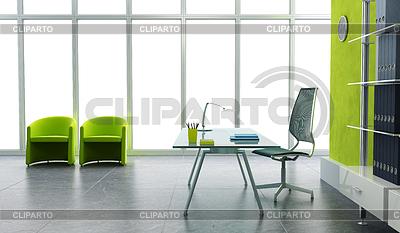 Modern office interior 3d | High resolution stock illustration |ID 3359898