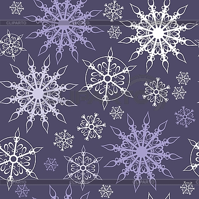 Seamless background of snowflakes | Stock Vector Graphics |ID 3116759