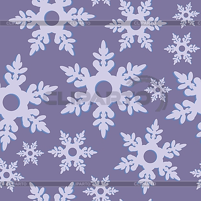 Seamless background of snowflakes | Stock Vector Graphics |ID 3116785