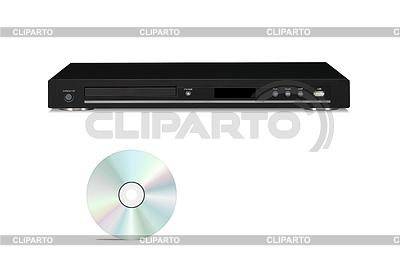 DVD player with cd disk   Foto stockowe wysokiej rozdzielczości  ID 3239694