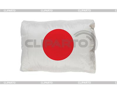 Poduszka japonia flaga   Foto stockowe wysokiej rozdzielczości  ID 3355488