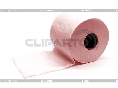 Rolka papieru toaletowego różowy | Foto stockowe wysokiej rozdzielczości |ID 3383478