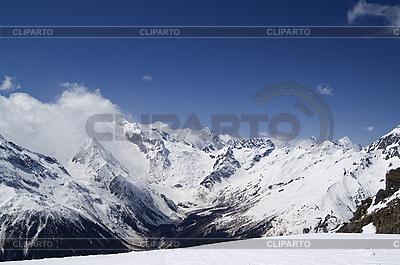 Góry Kaukazu, Dombay | Foto stockowe wysokiej rozdzielczości |ID 3117702