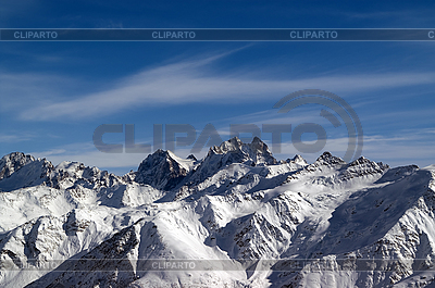 Panoramic view from Elbrus   High resolution stock photo  ID 3119031
