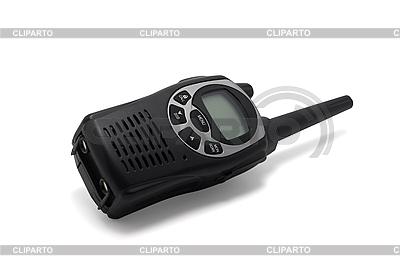 Black walkie talkie   High resolution stock photo  ID 3119275