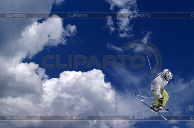 Freestyle skiing | High resolution stock photo |ID 3222648